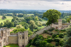View of Warwick castle Stock Images