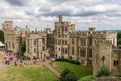 View of Warwick castle Royalty Free Stock Photo