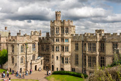 View of Warwick castle Stock Image