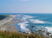 View of the Washington Coast Stock Image