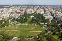 View on Washington with White House Royalty Free Stock Photo