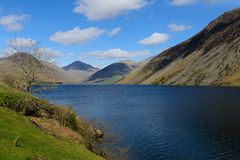 Waswater. View of Wastwater in Wasdale, Cumbria Royalty Free Stock Photography
