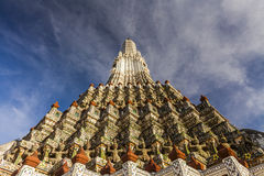 View of the Wat Arun. Bangkok. Royalty Free Stock Photos