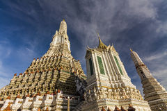 View of the Wat Arun. Bangkok. Royalty Free Stock Images