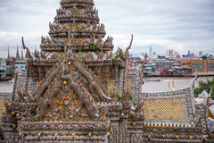 View of Wat Arun royalty free stock photography