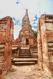 View of wat chaiwatthanaram temple, ayutthaya, thailand Stock Photos