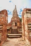 View of wat chaiwatthanaram temple, ayutthaya, thailand Stock Photos