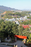 View from Wat Phra That Doi Wao Stock Image