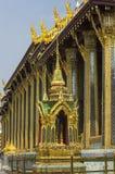 View of Wat Phra Kaeo temple. Bangkok. Thailand Royalty Free Stock Images