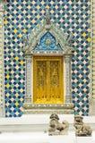 View of Wat Phra Kaeo temple. Bangkok. Thailand Royalty Free Stock Photo