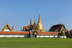 View of wat phra kaew of the emerald buddha Stock Photography