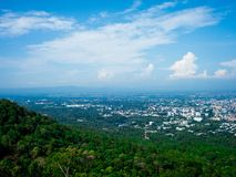 View on Wat Phrathat Doi Suthep Temple in Chiang Mai, Thailand. Royalty Free Stock Image