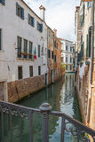 View of the water channel in the Venice Royalty Free Stock Images
