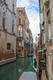 View of the water channel in the Venice Stock Photo