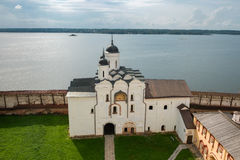View of the Water Gate and the Gate Church of the Transfiguration of the Lord Stock Images