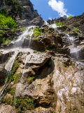 View of the waterfal Uchan-Su, Republic of Crimea Stock Photo