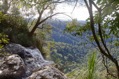 View from waterfall Royalty Free Stock Images