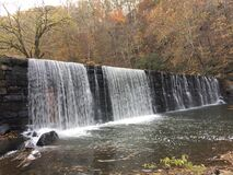 View of Waterfall Stock Photography