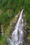 View  on waterfall  near the Matterhorn in Swiss Royalty Free Stock Images