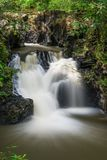 Waterfall at Tawau Hills Park. View of waterfall at Tawau Hills Park, Sabah, Malaysia Royalty Free Stock Images
