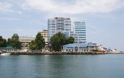 View of the waterfront city of Sevastopol Royalty Free Stock Photo