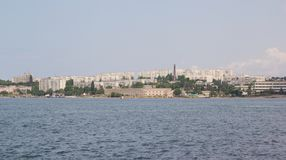View of the waterfront city of Sevastopol Royalty Free Stock Photography