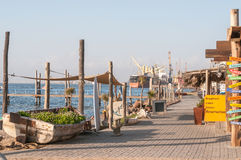 View of the waterfront in Walvis Bay Stock Photos