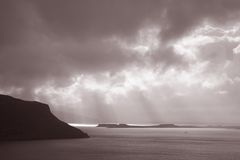 View from Waternish, Isle of Skye Royalty Free Stock Photo