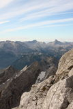 View from Watzmann Royalty Free Stock Photography