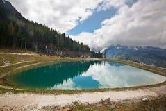 View of the Watzmann in Bavarian Alps Stock Photo
