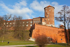 View of the Wawel castle Stock Photos