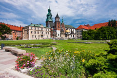 View of Wawel Cathedral Stock Photography