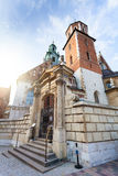View of Wawel Cathedral, Cracow, Poland Royalty Free Stock Photo