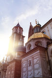 View of Wawel Cathedral, Cracow, Poland Royalty Free Stock Photography