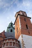 View of Wawel Cathedral, Cracow, Poland Stock Photography