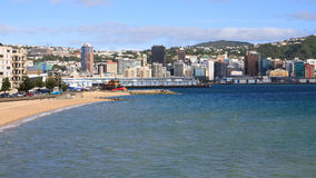 View of Wellington, New Zealand Royalty Free Stock Images