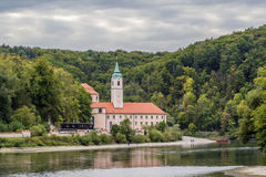 View of Weltenburg Abbey, Germany Stock Images
