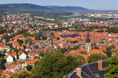 View from Wernigerode Castle, Germany Stock Photography