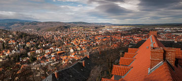View of Wernigerode, Germany Royalty Free Stock Photo