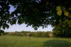 A view of the West Common, Lincoln, Lincolnshire, United Kingdom. August 2009 Stock Photo