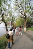 View in West Lake Cultural Landscape of Hangzhou Stock Photos