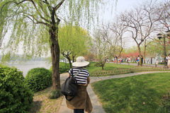 View in West Lake Cultural Landscape of Hangzhou Stock Photography