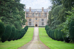 View of West Side of Montacute House Stock Photos