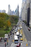 View at West 59 th street in New York Royalty Free Stock Photo