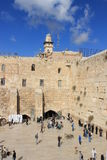 View of the west wall in Jerusalem, Israel Stock Photography