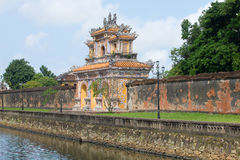 View of the Western gate of the Forbidden Purple city to Hue Stock Photo