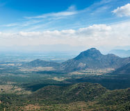 View of Western Ghats mountains, India Stock Image