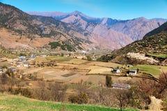 View from western Nepal around Kolti village Stock Photo