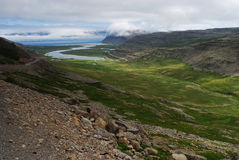 View of Westfjord landscape, Iceland Royalty Free Stock Image