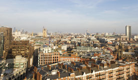 View from Westminster Cathedral. Stock Photos